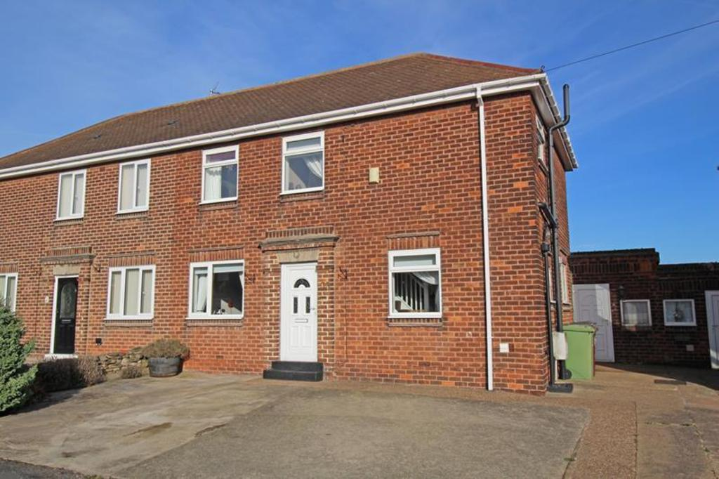 3 Bedrooms Semi Detached House for sale in West Street, Creswell