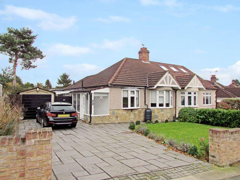 3 Bedrooms Semi Detached Bungalow for sale in Tile Kiln Lane, Bexley
