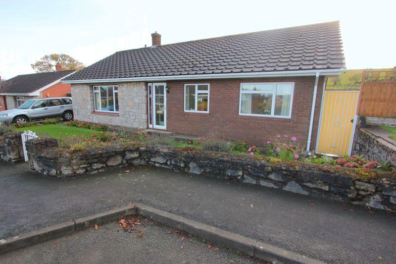 3 Bedrooms Detached Bungalow for sale in Llys Gwilym, Llanrhaedr