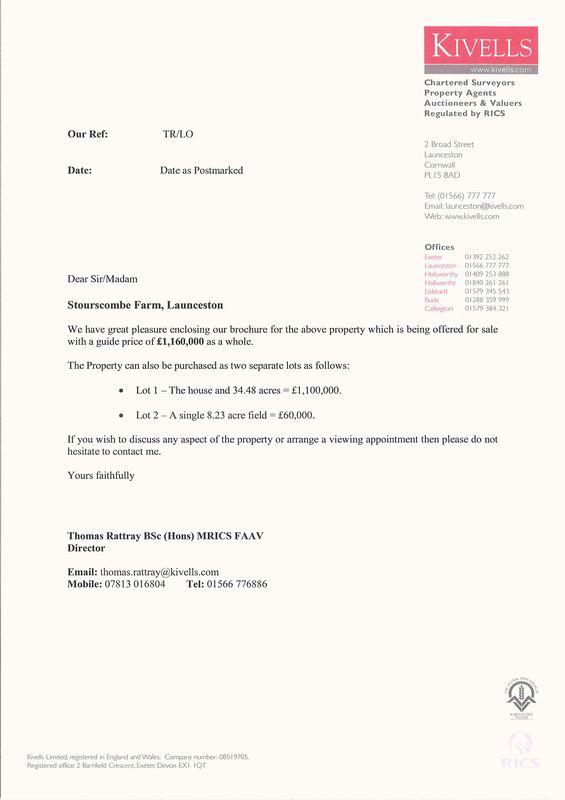 Guide Price Letter