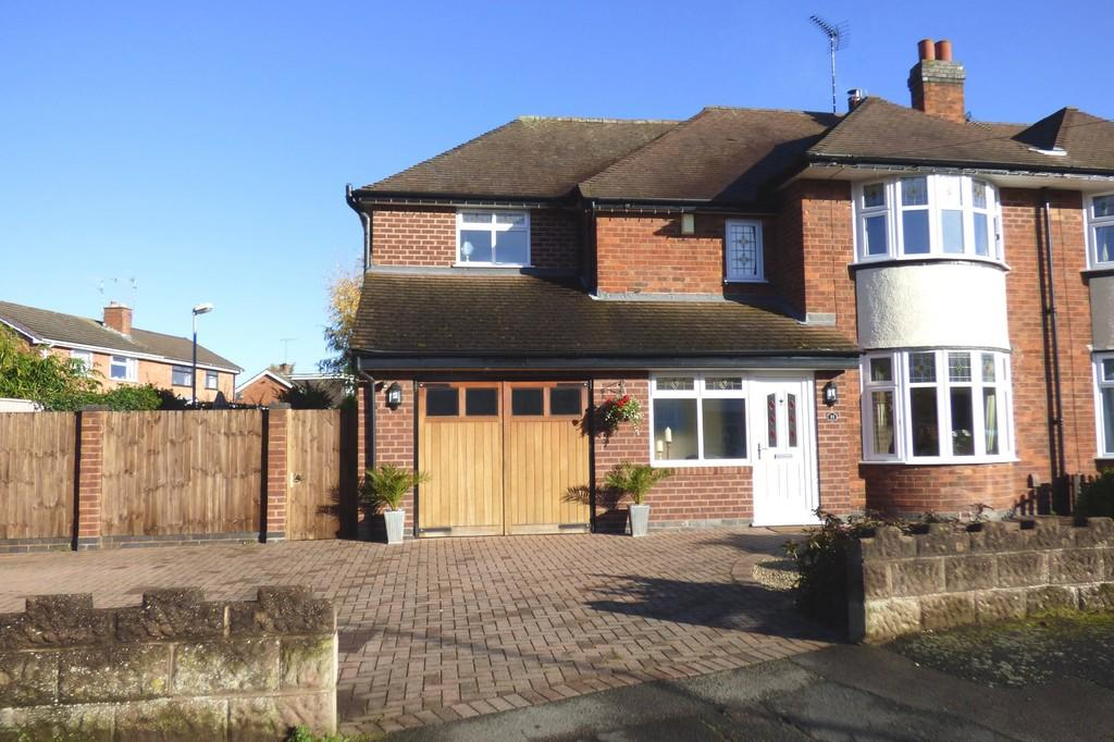5 Bedrooms Semi Detached House for sale in York Road, Stafford