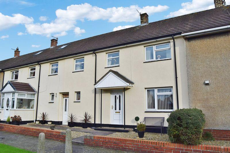 3 Bedrooms Terraced House for sale in Strother Close, Haydon Bridge