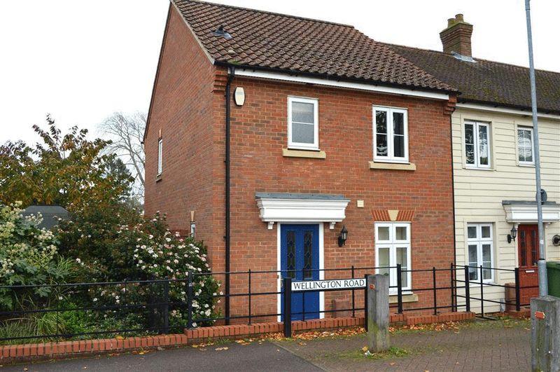 3 Bedrooms Semi Detached House for sale in Wellington Road Watton