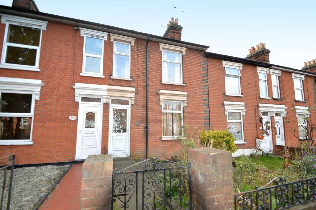 2 Bedrooms Terraced House for sale in Foxhall Road, Ipswich, IP3 8HR