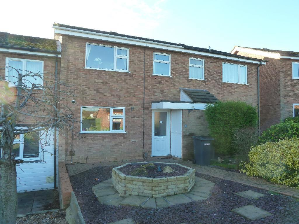 3 Bedrooms Town House for sale in Greenhill Close, Melton Mowbray