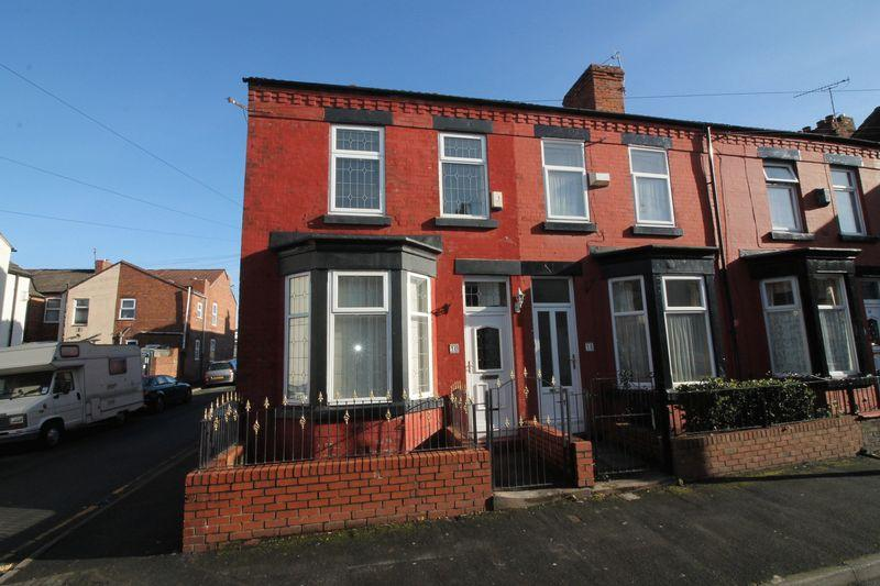 3 Bedrooms End Of Terrace House for sale in Wycliffe Street, Rock Ferry