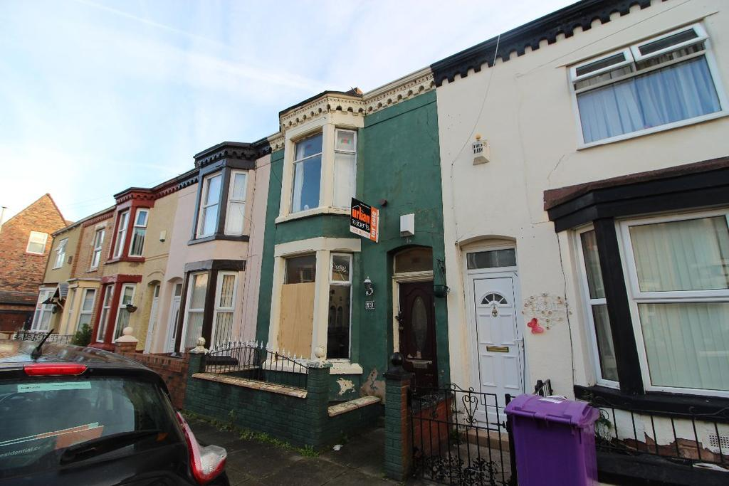 3 Bedrooms Terraced House for sale in Gilroy Road L6 6BG