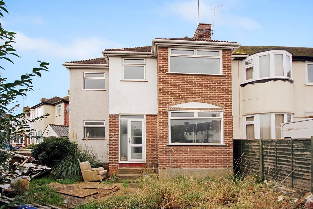 4 Bedrooms End Of Terrace House for sale in Thesiger Road, Worthing BN11 2RL