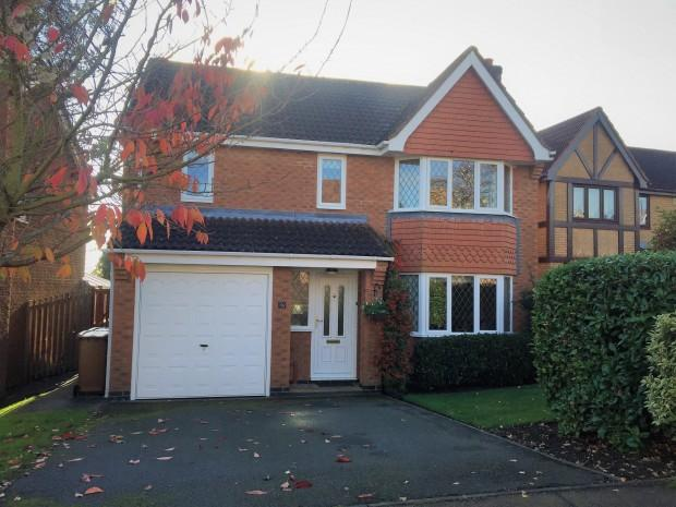 4 Bedrooms Detached House for sale in Hunt Drive, Melton Mowbray, LE13