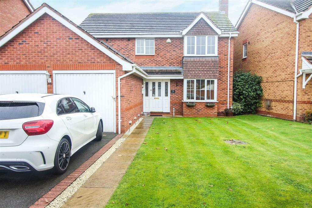 4 Bedrooms Detached House for sale in Cedar Avenue, Ryton On Dunsmore, Coventry