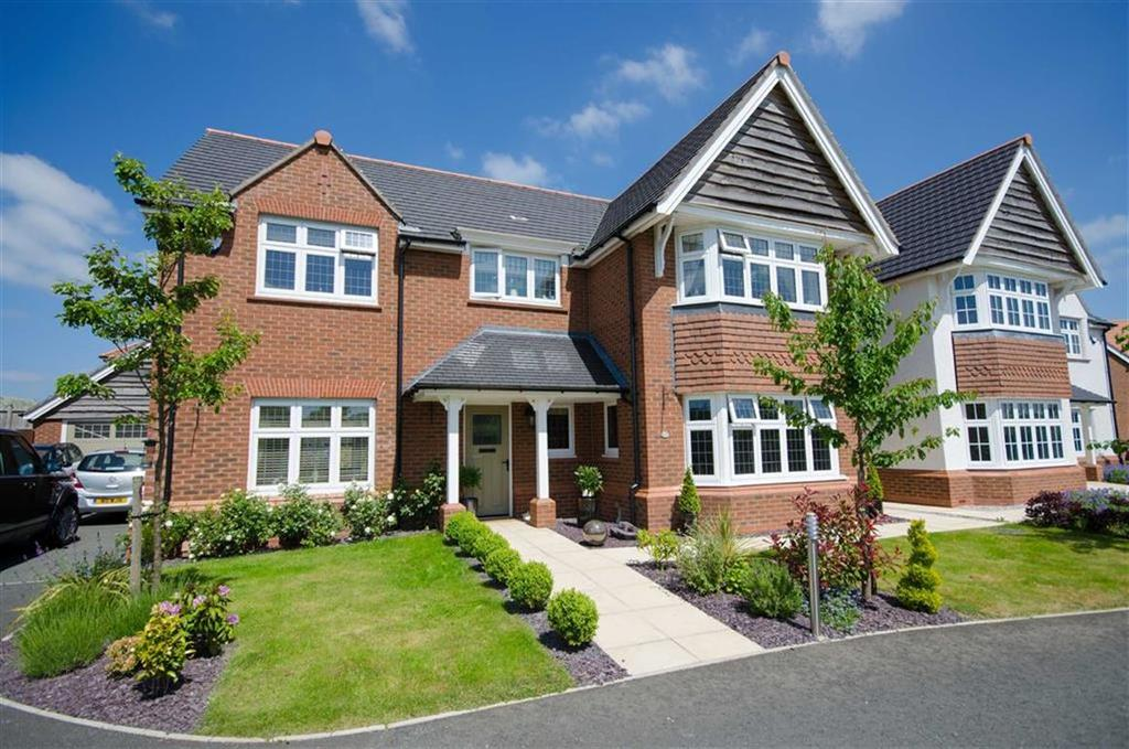 4 Bedrooms Detached House for sale in Badgers Court, Northop, Mold