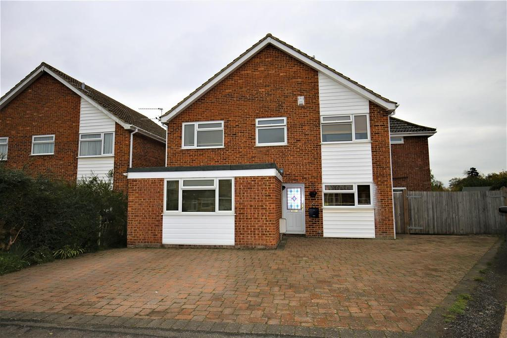 4 Bedrooms Detached House for sale in Eddington Close, Maidstone