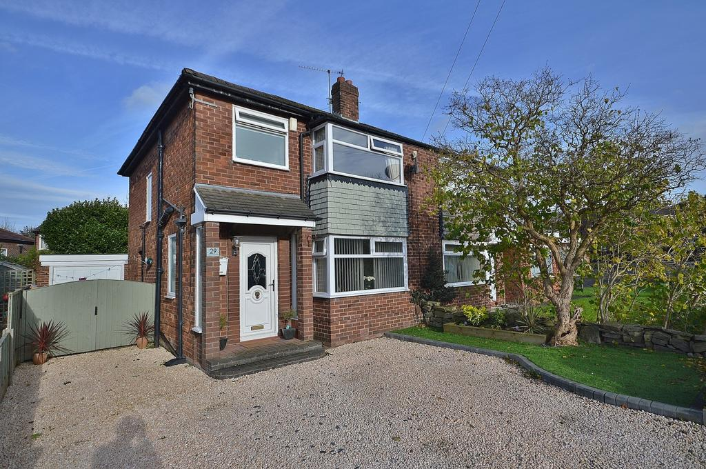 3 Bedrooms Semi Detached House for sale in Capesthorne Road, Hazel Grove