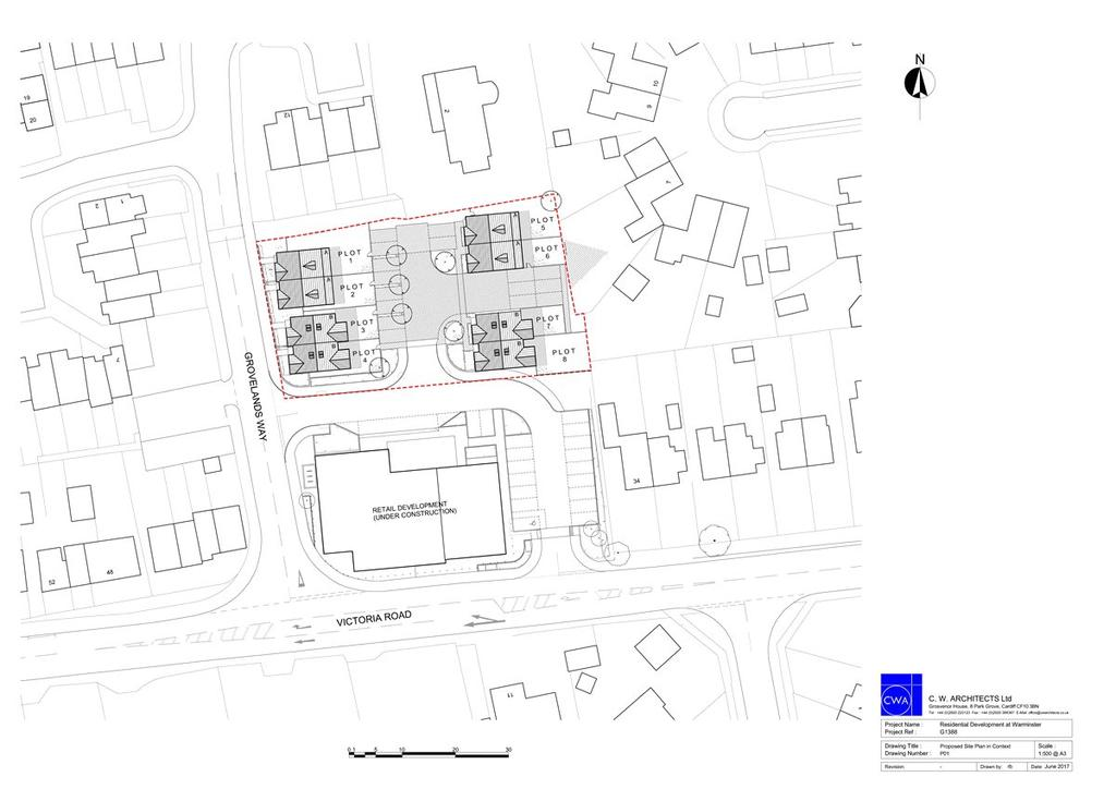 Plot Commercial for sale in Victoria Road, Warminster, Wiltshire, BA12