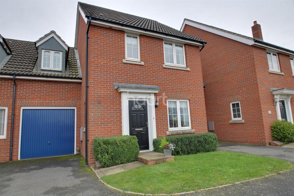 3 Bedrooms Semi Detached House for sale in Quail Close
