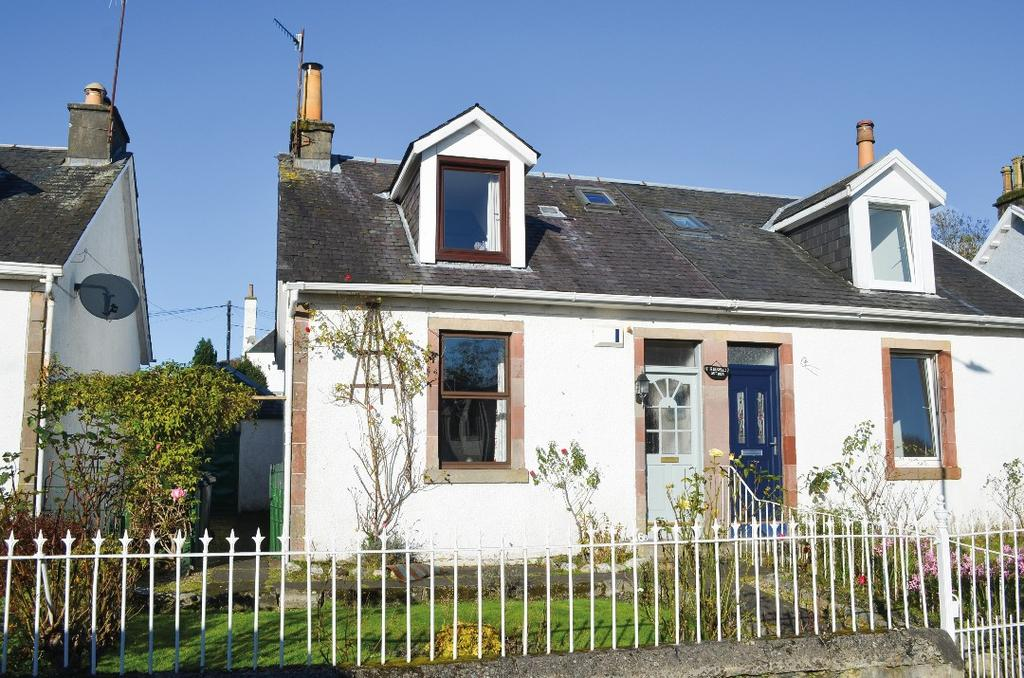 2 Bedrooms Semi Detached House for sale in Church Road, Kirkpark Cottages, Rhu, Argyll Bute, G84 8RW