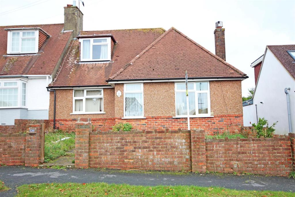 4 Bedrooms Semi Detached Bungalow for sale in Barrhill Avenue, Patcham, Brighton