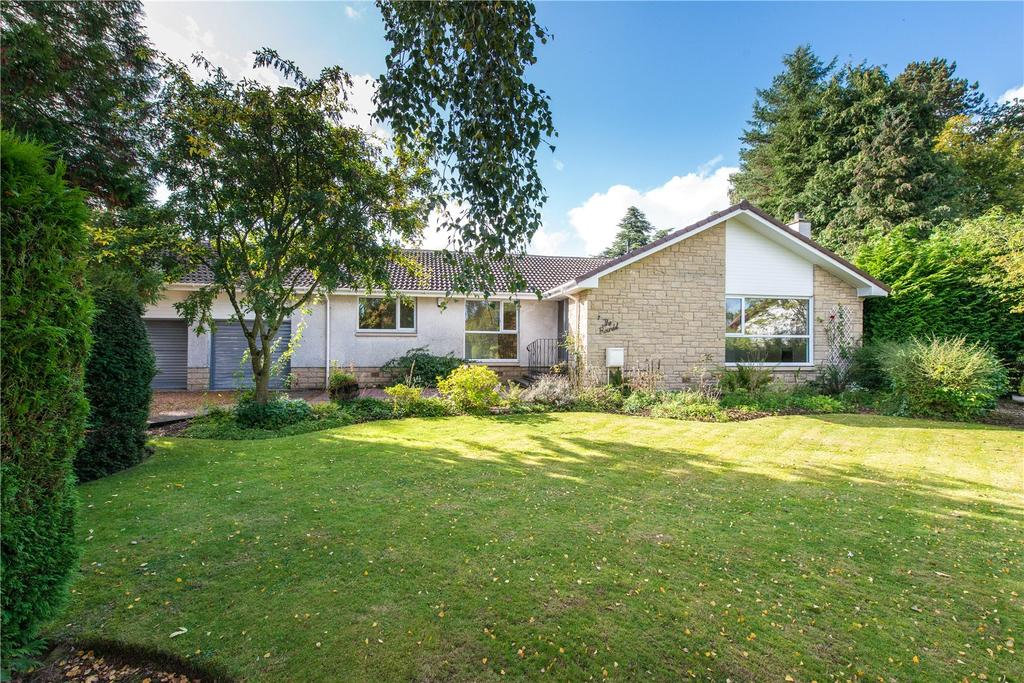 4 Bedrooms Detached Bungalow for sale in The Roundel, Auchterarder, Perthshire