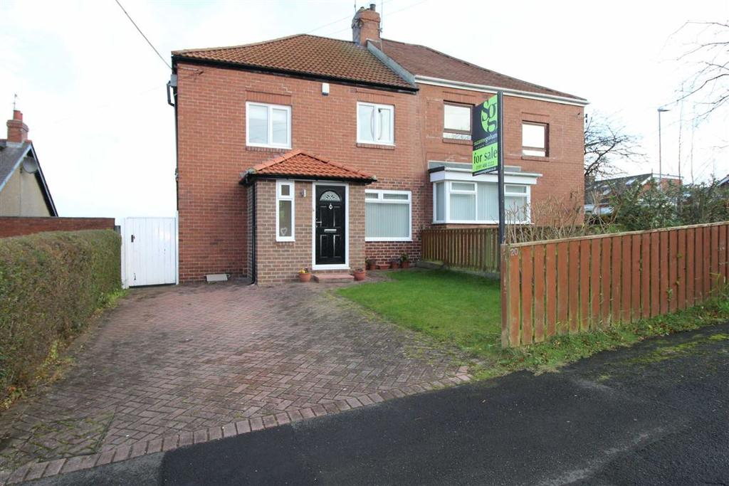 3 Bedrooms Semi Detached House for sale in Hole Lane, Sunniside, Newcastle Upon Tyne