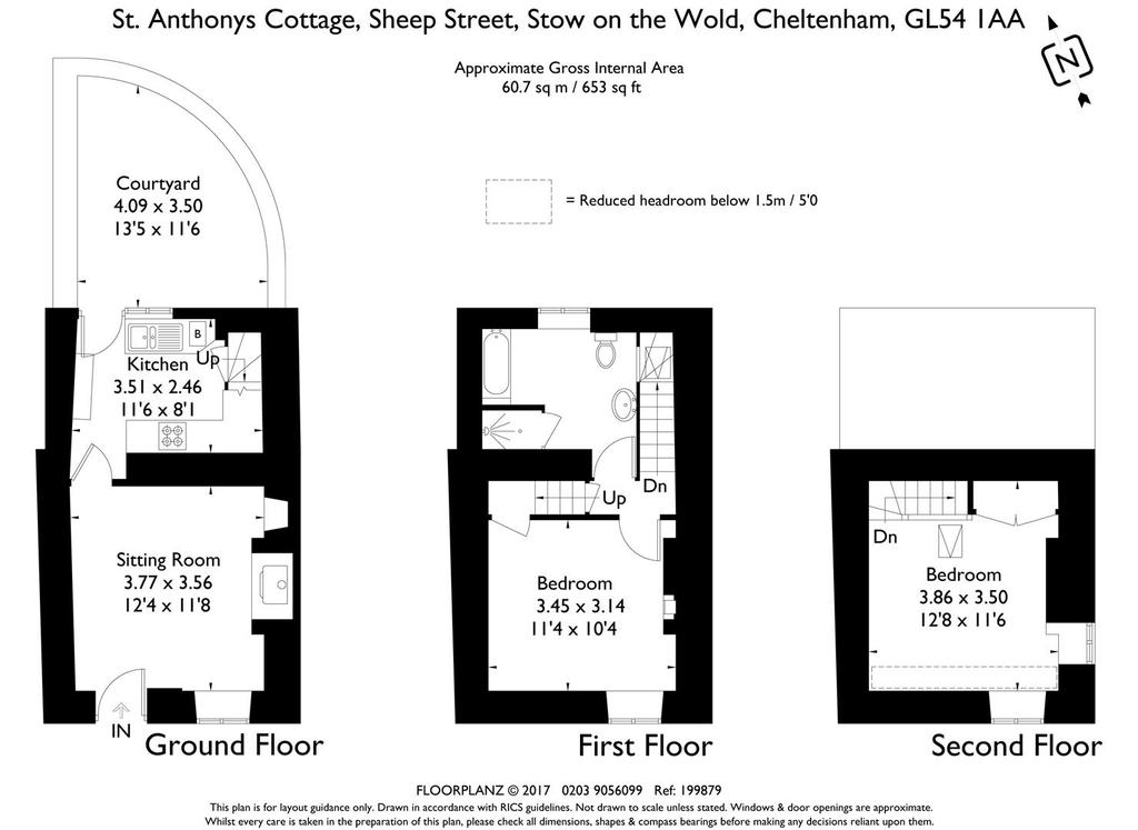 Floorplan: St Anthonys Cottage 199879 fp A4 Landscape.jpg