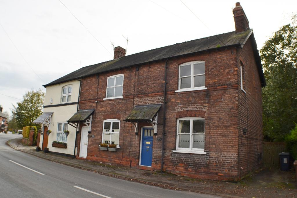 2 Bedrooms End Of Terrace House for sale in Main Road, Goostrey