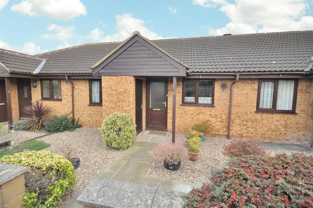 2 Bedrooms Terraced Bungalow for sale in Windsor Court, Bingham, Nottingham