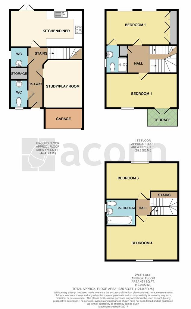 Floorplan: 43 Baker Crescent p...