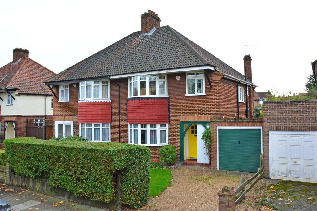 3 Bedrooms Semi Detached House for sale in Wricklemarsh Road, Blackheath, London, SE3