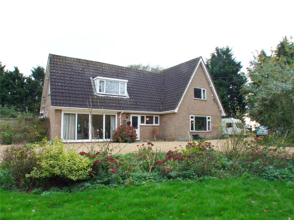 4 Bedrooms Detached House for sale in Main Road, Deeping St. Nicholas, Spalding, Lincolnshire, PE11