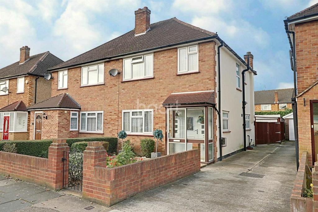 3 Bedrooms Semi Detached House for sale in Daleham Drive, Uxbridge
