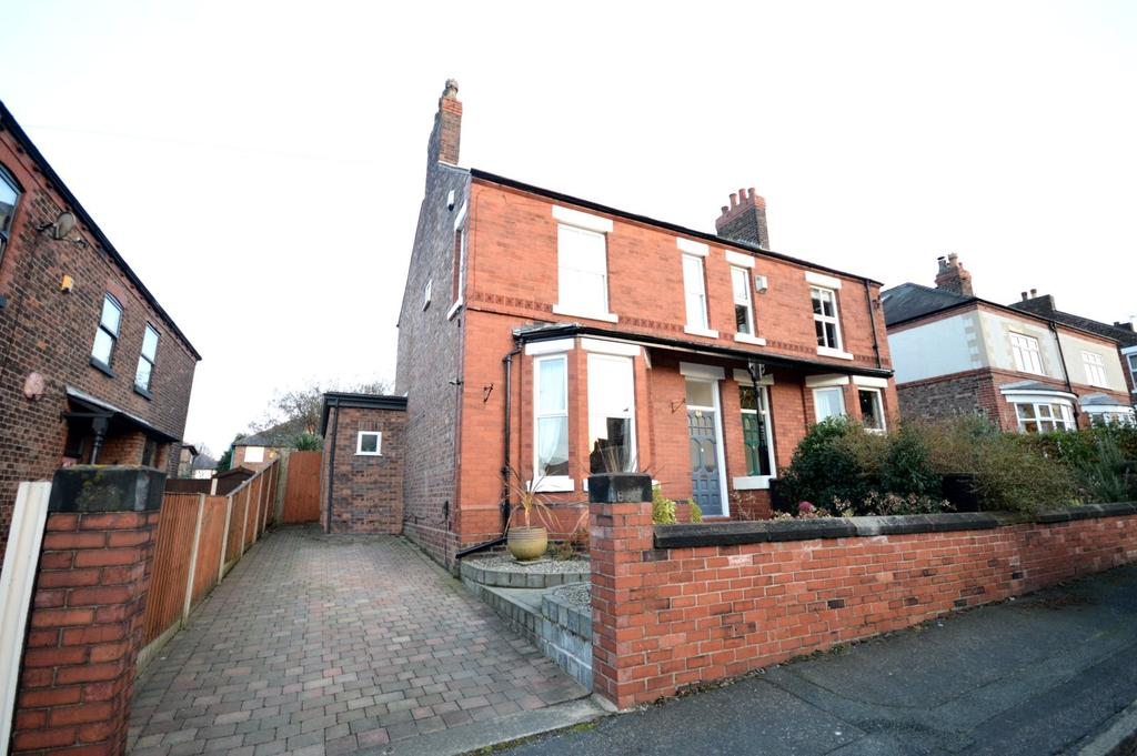 3 Bedrooms Semi Detached House for sale in Albert Road, Grappenhall