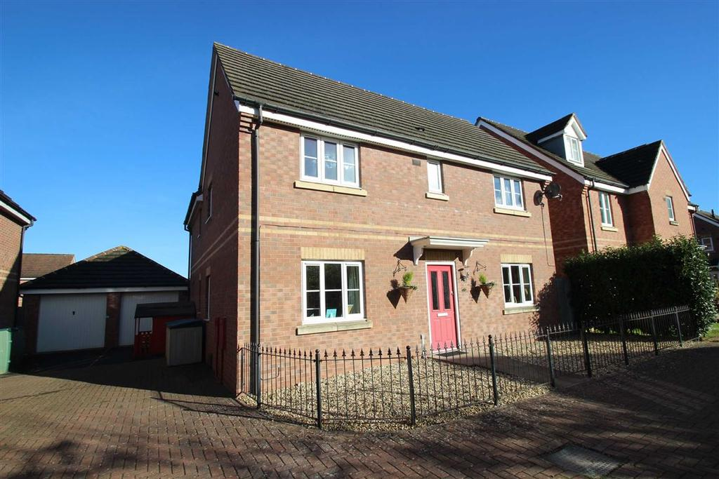 4 Bedrooms Detached House for sale in Waggoners Way, Saxon Gate, Hereford