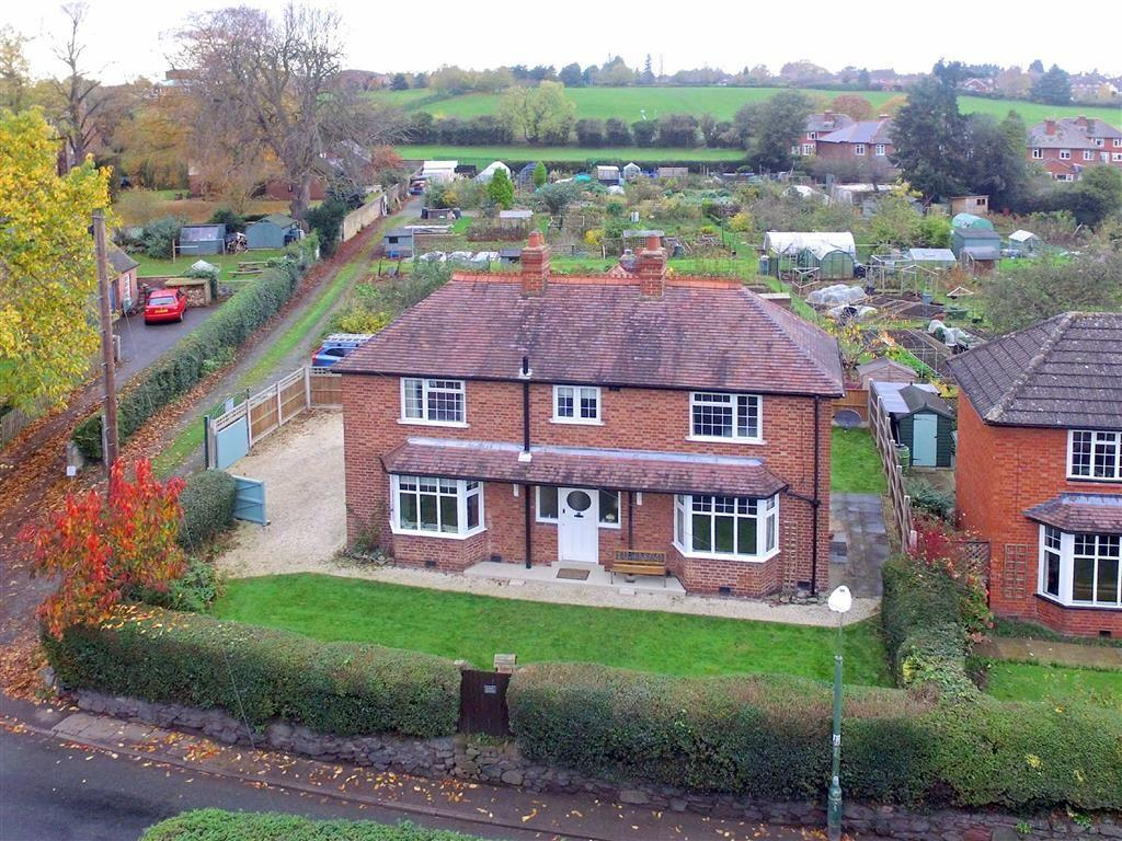 3 Bedrooms Detached House for sale in Vicarage Road, Meole Village, Shrewsbury, Shropshire