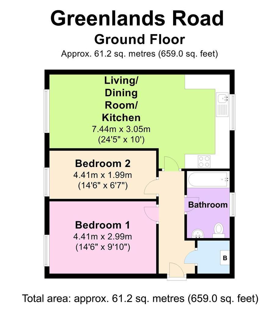 Floorplan: 114 Greenlands Rd   Floorplan.JPG