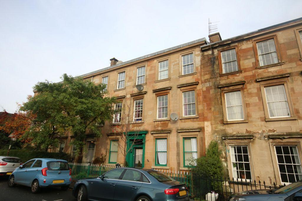 3 Bedrooms Flat for sale in 2/1, 58 Buccleuch Street, Garnethill, Glasgow, G3 6PQ