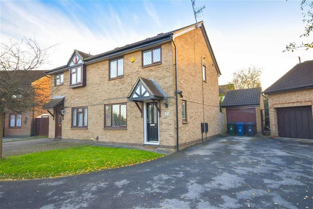 3 Bedrooms Semi Detached House for sale in Cranford Gardens, West Bridgford
