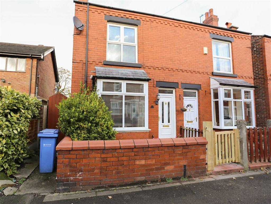 2 Bedrooms Semi Detached House for sale in Beech Road, Cale Green, Stockport
