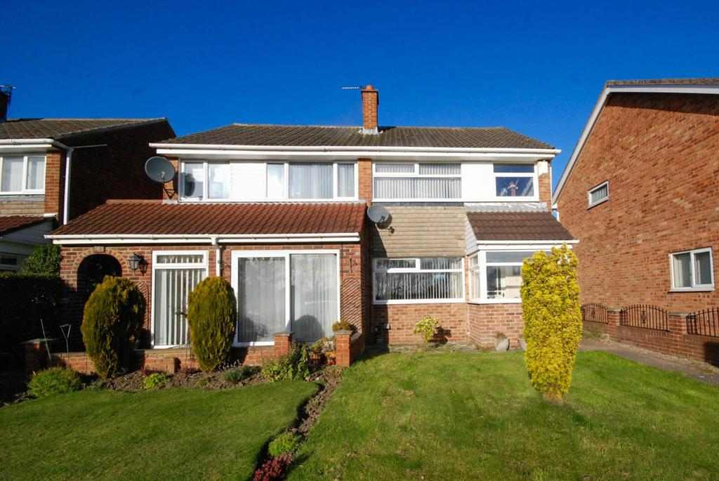 3 Bedrooms Semi Detached House for sale in Durham Drive, Jarrow