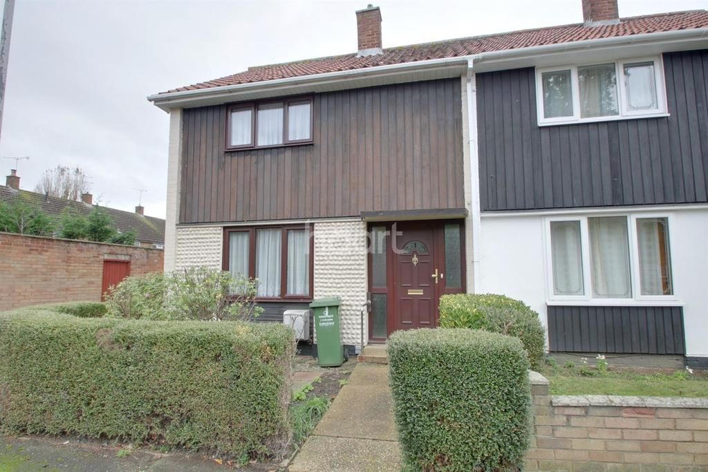 2 Bedrooms End Of Terrace House for sale in Tangham Walk, Basildon