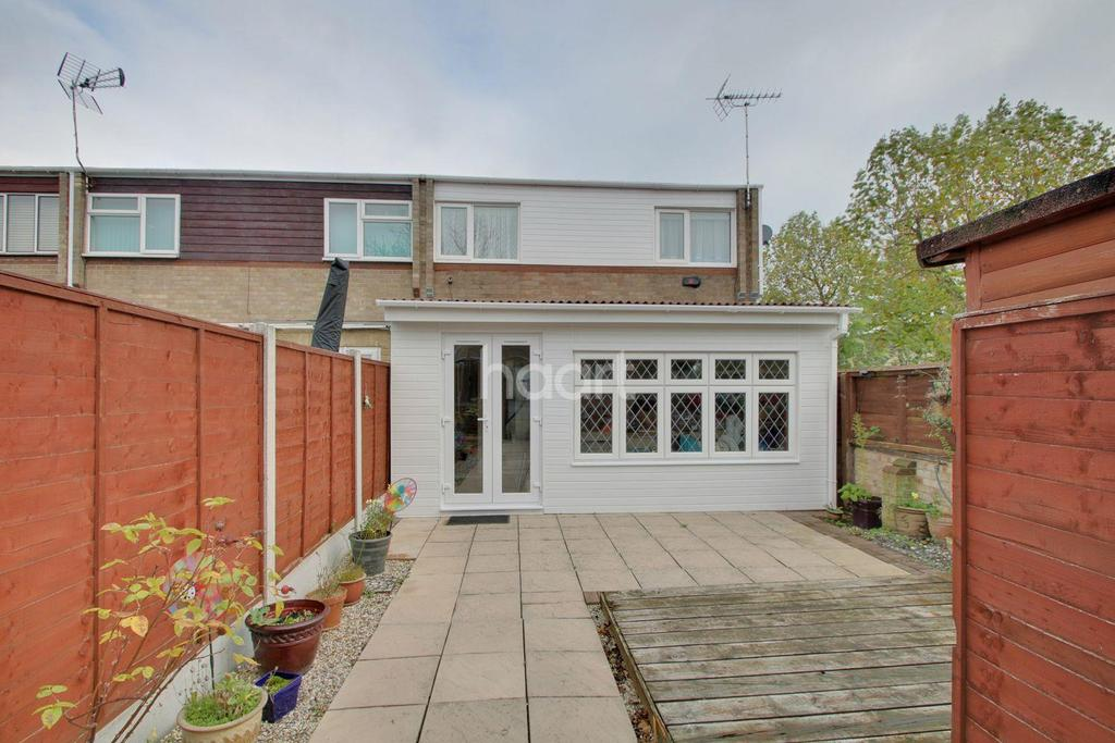 3 Bedrooms End Of Terrace House for sale in Beambridge Place, Basildon