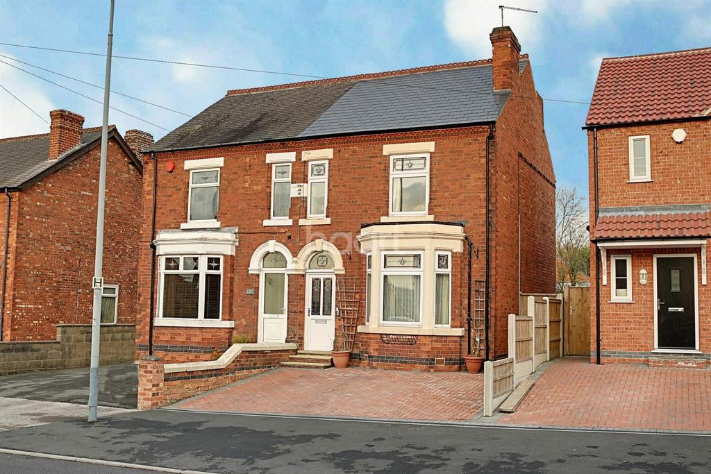 3 Bedrooms Semi Detached House for sale in Broad Lane, Brinsley