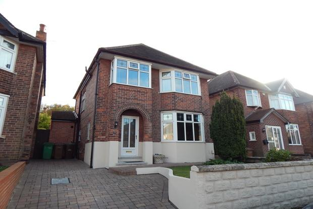 4 Bedrooms Detached House for sale in Valmont Road, Sherwood, Nottingham, NG5