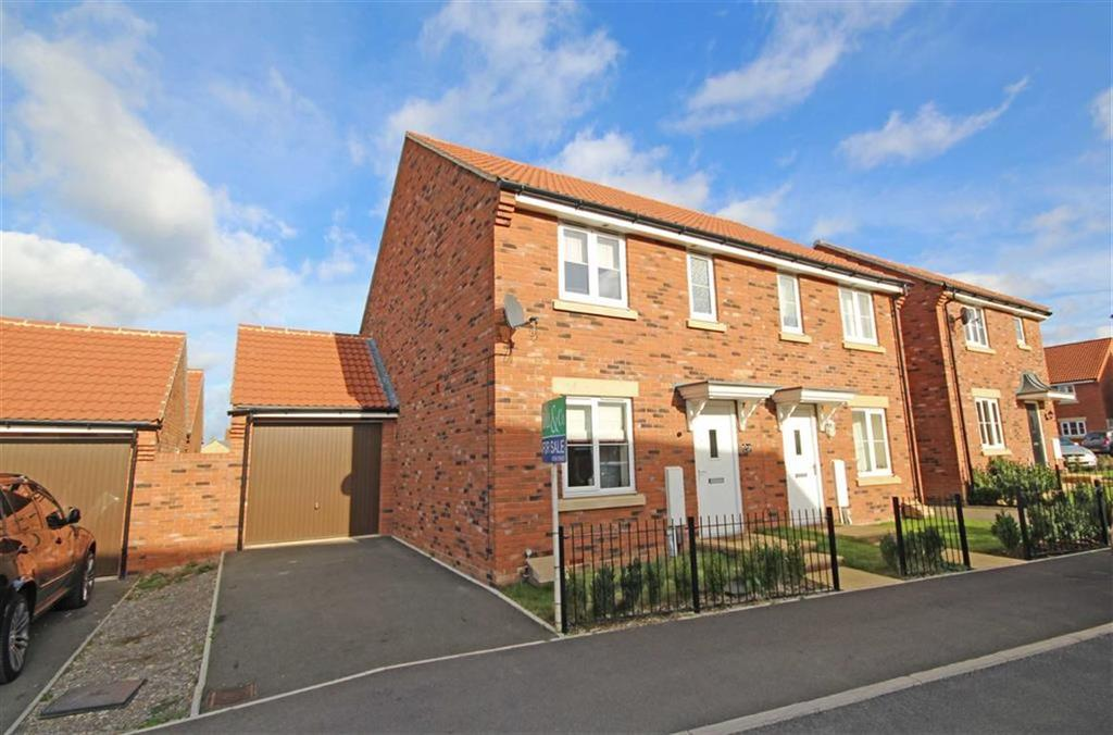 3 Bedrooms Semi Detached House for sale in Tawny Close, Bishops Cleeve, Cheltenham, GL52
