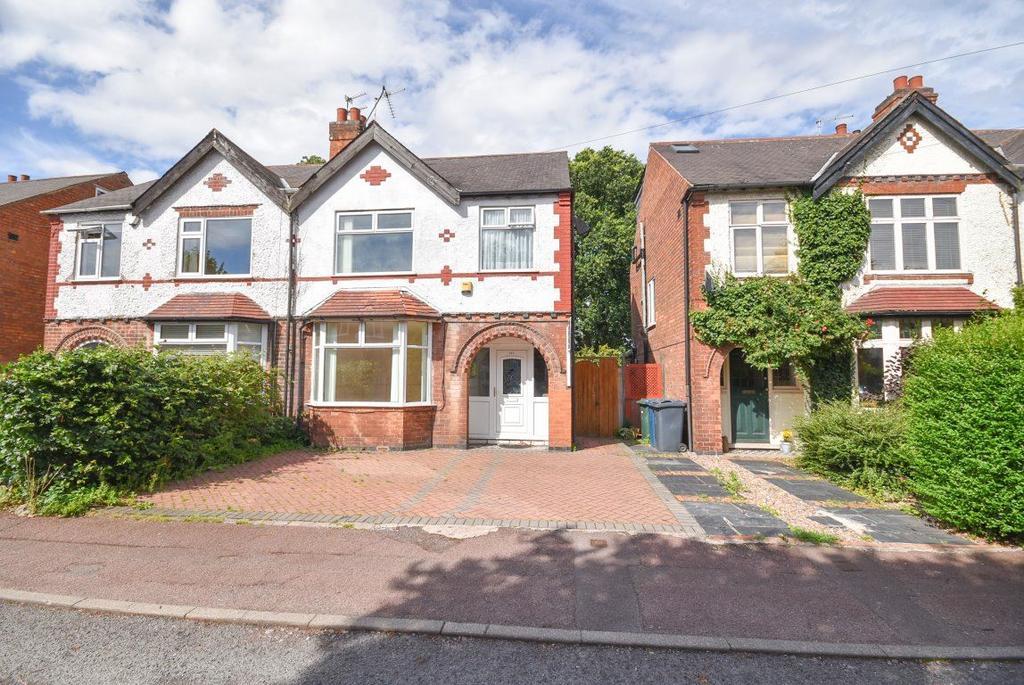 3 Bedrooms Semi Detached House for rent in Rutland Road, West Bridgford