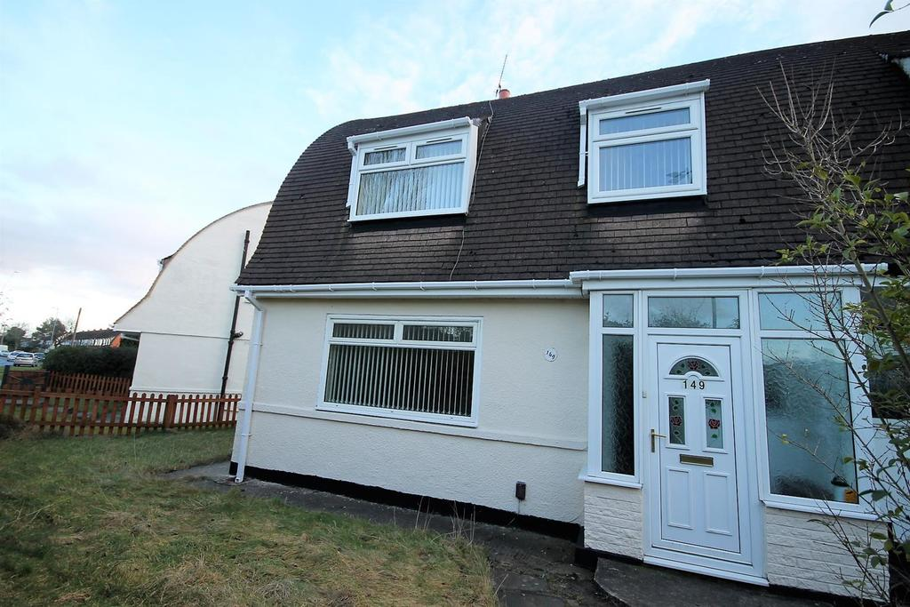 3 Bedrooms Semi Detached House for sale in Bishopton Road West, Stockton-On-Tees