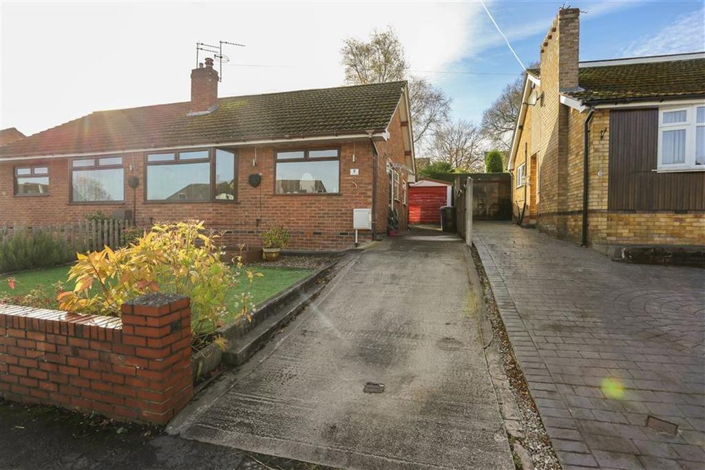 2 Bedrooms Semi Detached Bungalow for sale in St Christophers Drive, Romiley, Cheshire