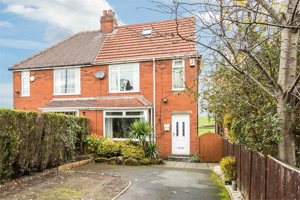 3 Bedrooms Semi Detached House for sale in Whitehall Road, Drighlington, West Yorkshire