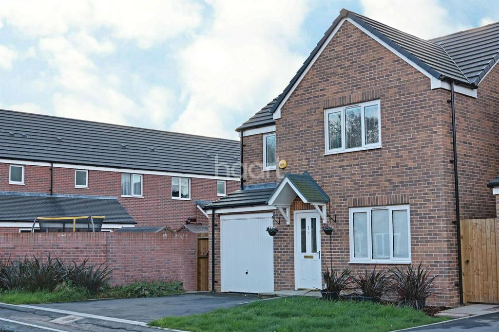 4 Bedrooms Detached House for sale in Cedar Gardens, Coedkernew, Newport, NP10