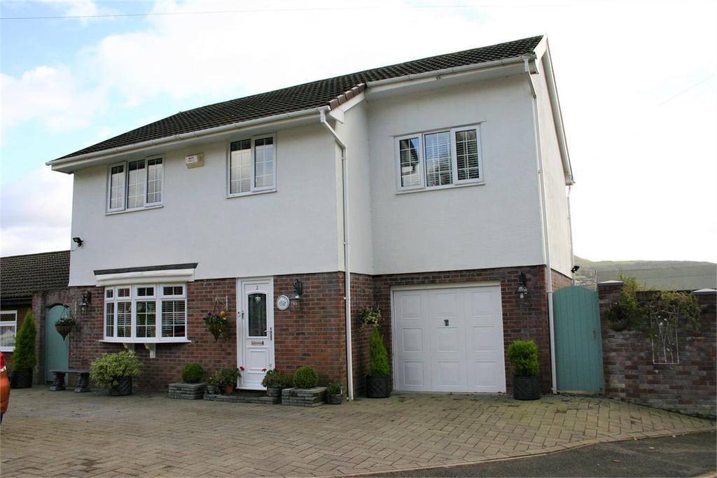 4 Bedrooms Detached House for sale in 2 Maes Glas, Coe Y Cwm, Pontypridd, Rhondda, Cynon, Taff, CF37 3EJ