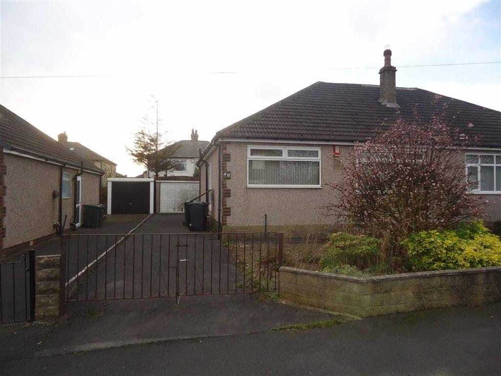 2 Bedrooms Semi Detached Bungalow for sale in Back Lane, Bradford, West Yorkshire, BD13